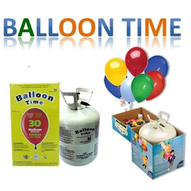 KIT DE FIESTA BALLOON TIME POR 30 GLOBOS